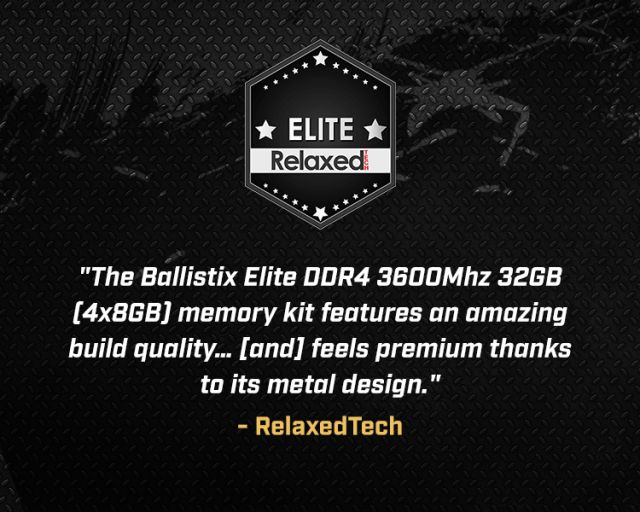 Ballistix Elite Series - RAM | Product Info | Crucial com