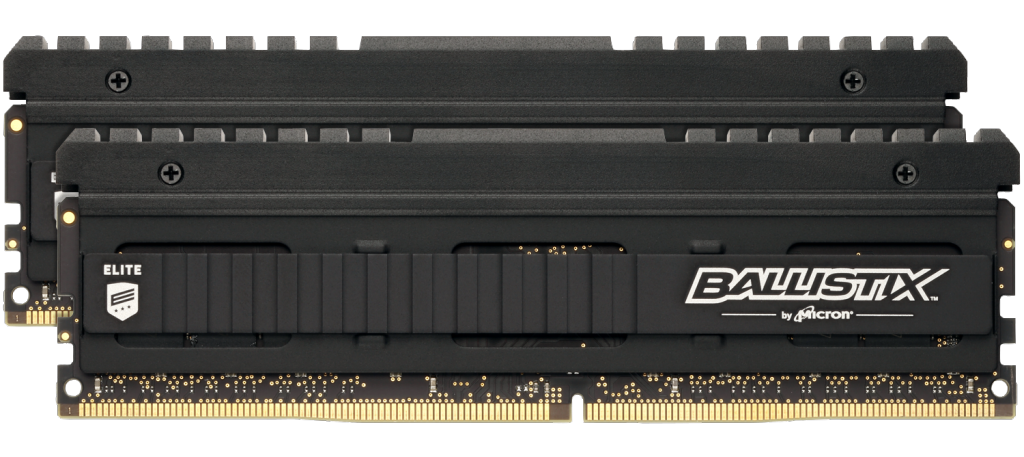 Ballistix Elite 16GB (8GBx2) DDR4-4000 UDIMM- view 1