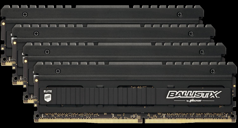 Ballistix Elite 32GB (8GBx4) DDR4-4000 UDIMM Desktop/PC Memory