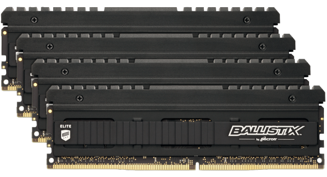 Image for Ballistix Elite 32GB (4 x 8GB) DDR4-3600 UDIMM from Crucial India