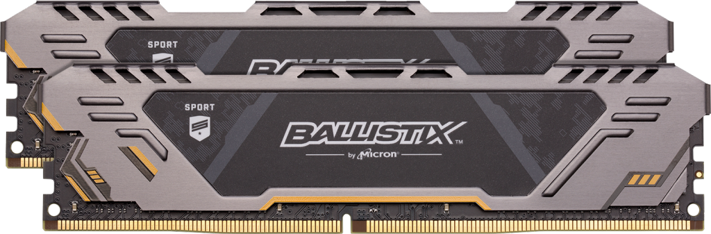 Image for Ballistix Sport AT 16GB Kit (2 x 8GB) DDR4-3200 UDIMM from Crucial India