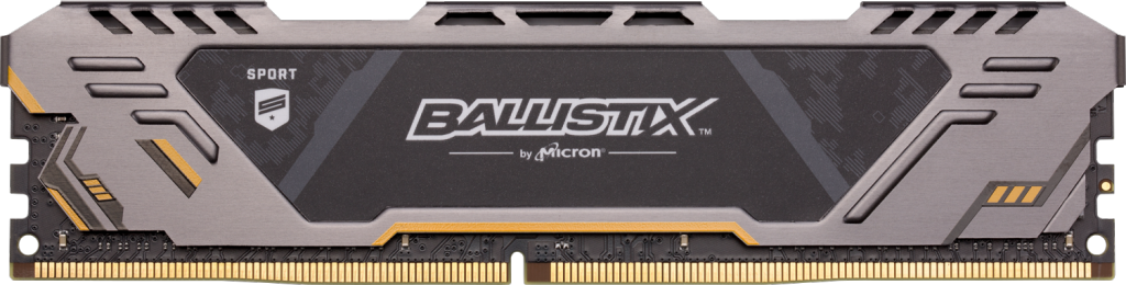 Crucial Taiwan 中 Ballistix Sport AT 8GB DDR4-3200 UDIMM 的影像