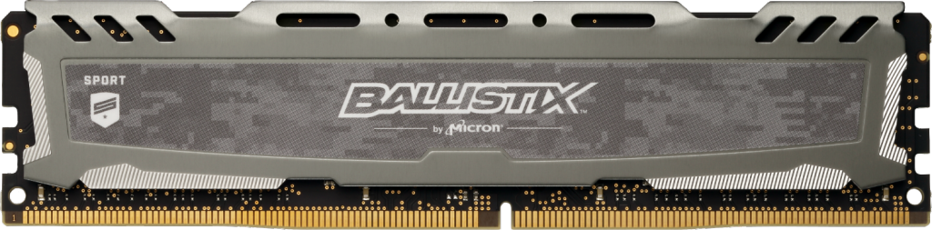 Image for Ballistix Sport LT Gray 8GB DDR4-3200 UDIMM from Crucial USA