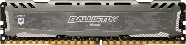 Ballistix Sport LT Gray 16GB DDR4-2666 UDIMM