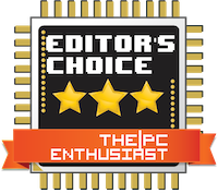 PC Enthusiast Editor's Choice Award