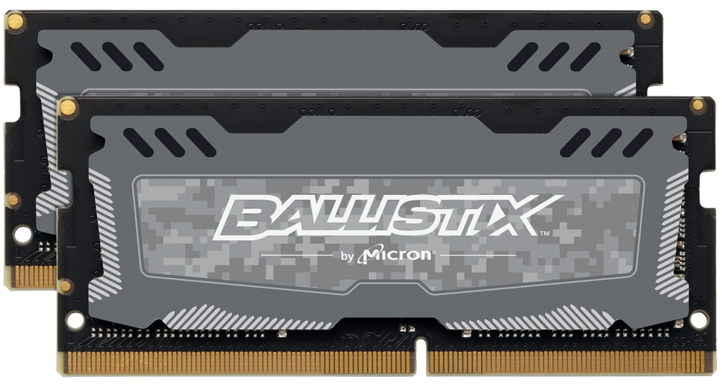 Ballistix Sport LT 32GB Kit (2 x 16GB) DDR4-2666 SODIMM- view 1