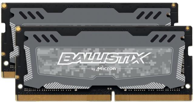 Ballistix Sport LT 32GB Kit (2 x 16GB) DDR4-2666 SODIMM