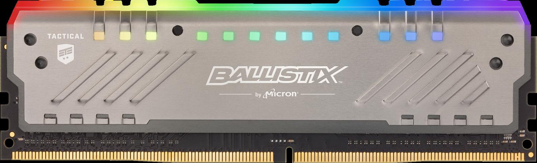 Ballistix Tactical Tracer RGB 8GB DDR4-3000 UDIMM Desktop/PC Memory Gaming Memory