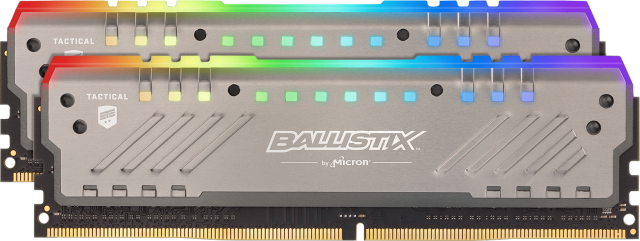 Ballistix Tactical Tracer RGB 16GB Kit (2x8GB) DDR4-3000 UDIMM Gaming Memory