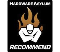 HardwareAsylum.com Recommended Award