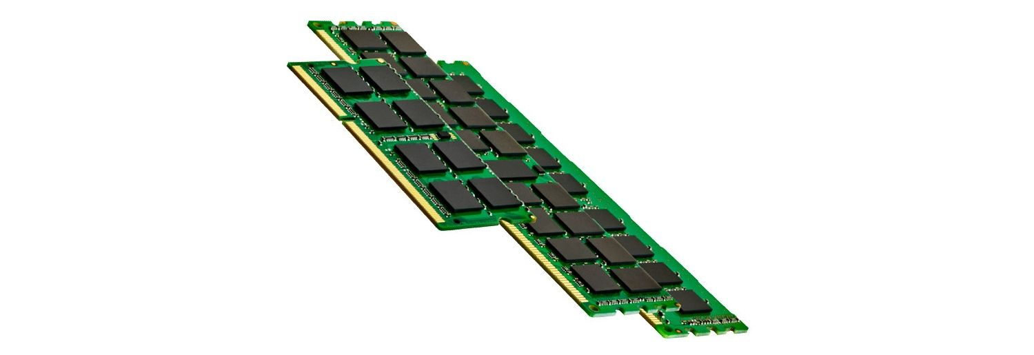 Three sticks of computer memory (RAM)