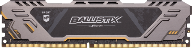 Ballistix Sport AT 16GB DDR4-2666 UDIMM gaming memory