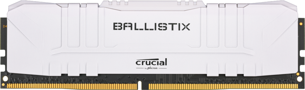 Crucial Ballistix 8GB DDR4-2666 Desktop Gaming Memory (White)- view 1