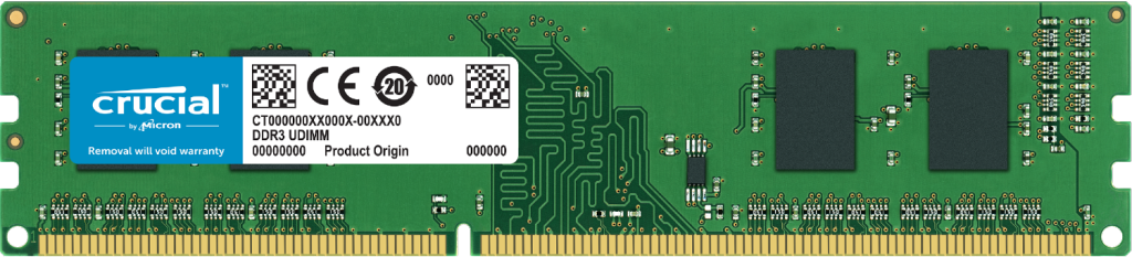2GB DDR3 PC3-12800 Unbuffered NON-ECC 1.35V 256Meg x 64- view 1
