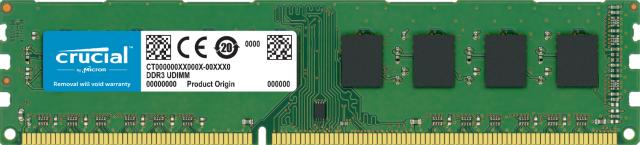 Crucial 4GB DDR3L-1600 UDIMM