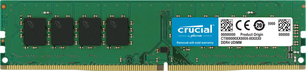Crucial 32GB DDR4-3200 UDIMM- view 1