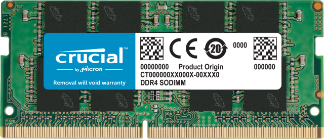 Crucial 16GB DDR4-3200 SODIMM