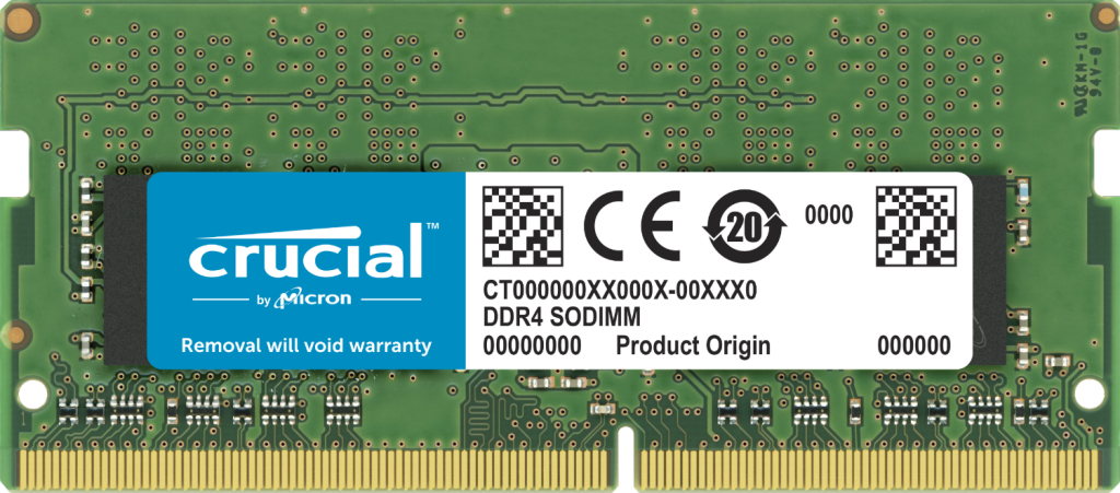 Crucial 32GB DDR4-2666 SODIMM- view 1