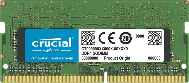 Crucial 32GB DDR4-3200 SODIMM