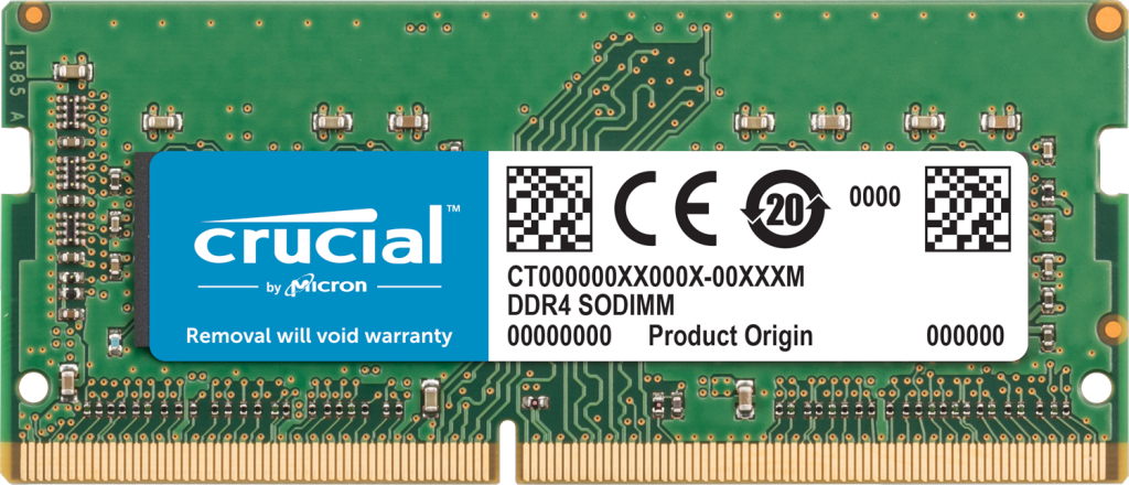 Crucial 32GB DDR4-2666 SODIMM Memory for Mac- view 1