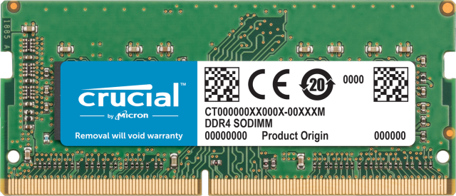 Crucial 32GB DDR4-2666 SODIMM Memory for Mac