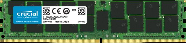 Image for Crucial 32GB DDR4-3200 RDIMM from Crucial India