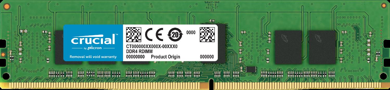 컴퓨터의 Crucial 메모리(RAM)