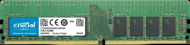 Image for Crucial 16GB DDR4-2933 RDIMM from Crucial Russia