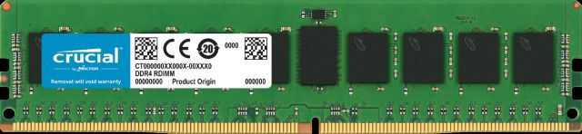 Image for Crucial 64GB DDR4-2933 RDIMM from Crucial English Euro Store