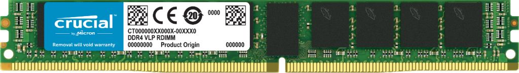 Image for Crucial 16GB DDR4-2666 VLP ECC UDIMM from Crucial India