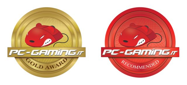 pc-gaming.it gold + recommended award