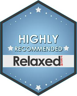 relaxedtech highly recommended award