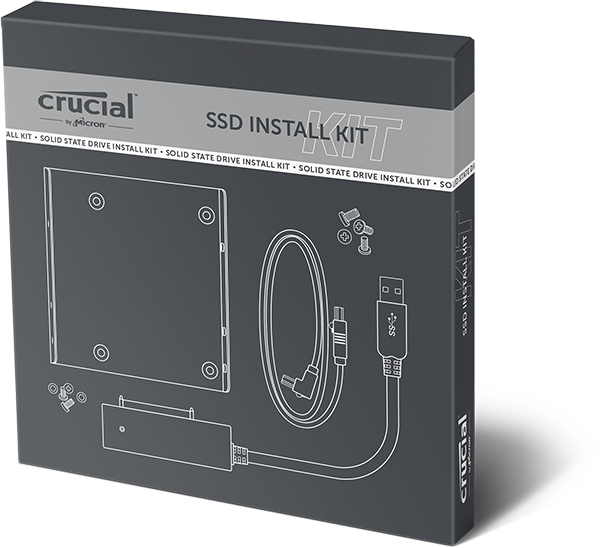 Crucial Easy Desktop Install Kit for SSD- view 1