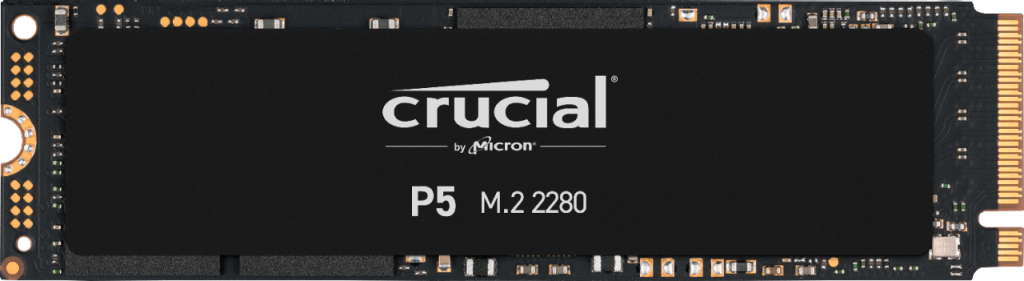 Crucial P5 2TB PCIe M.2 2280SS SSD- view 1