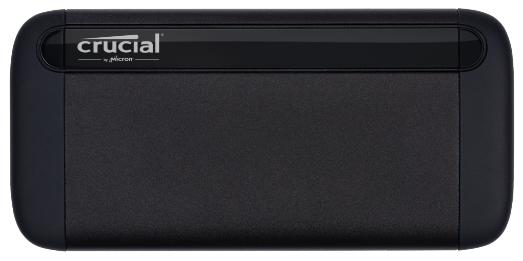 SSD portable Crucial X8 500 Go- view 1