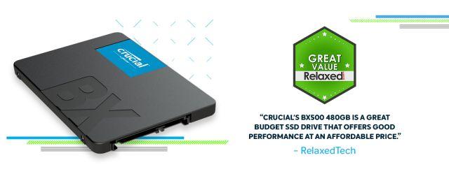 Crucial BX500 SSD | Crucial com