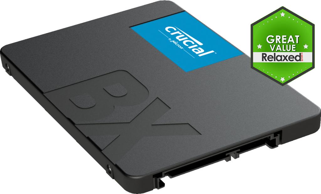 Crucial BX500 480GB 3D NAND SATA 2 5-inch SSD