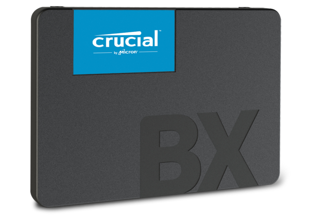 Crucial BX500 480GB 3D NAND SATA 2.5-inch SSD- view 4