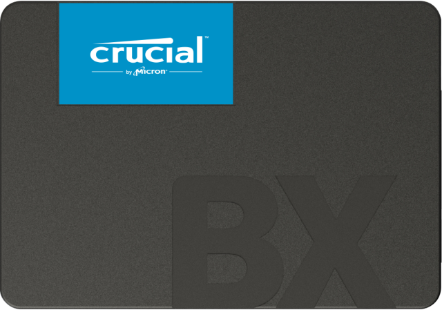 Crucial BX500 2To 3D NAND SATA 2.5-inch SSD