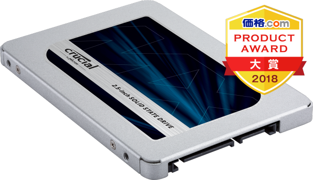 Crucial Japan の Crucial MX500 500GB 3D NAND SATA 2.5