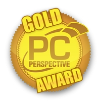 PC Perspective Gold Award