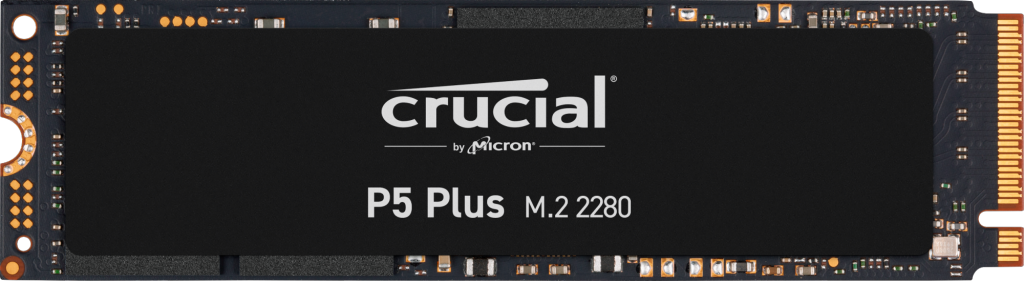 SSD Crucial P5 Plus 1To M.2 2280SS PCIe- view 1