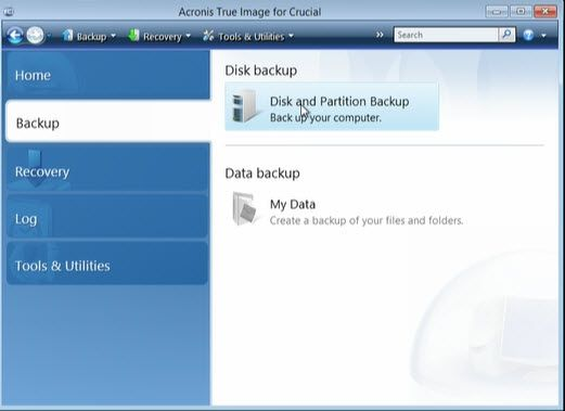 Acronis Image Backup and Recovery Guide | United States