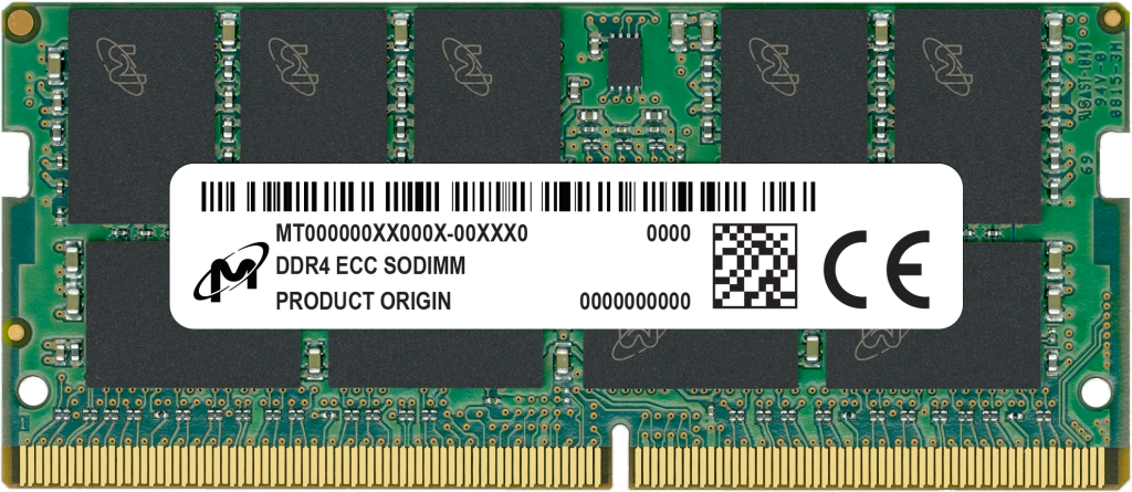 DDR4 ECC SODIMM 16GB 2Rx8 2666 CL19- view 1