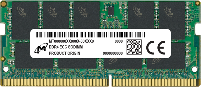 16GB DDR4-2666 ECC SODIMM 1.2V CL19