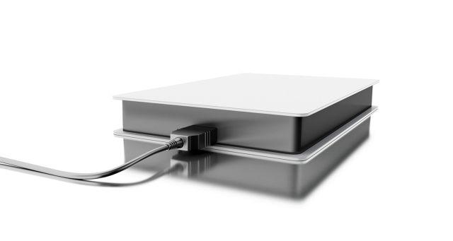 Una unidad de disco duro externa