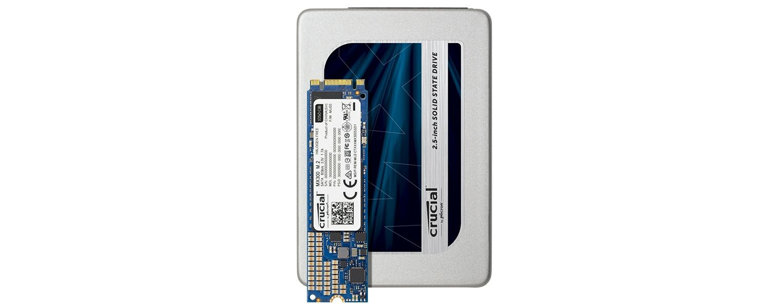 Crucial MX300 SSD Family
