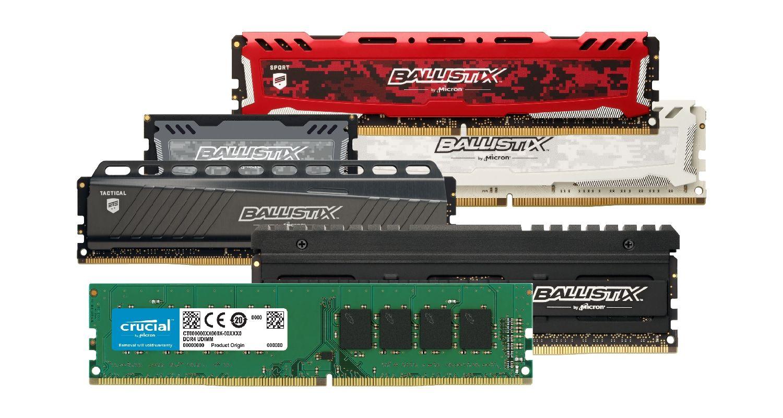 Crucial memory (RAM) for gaming.