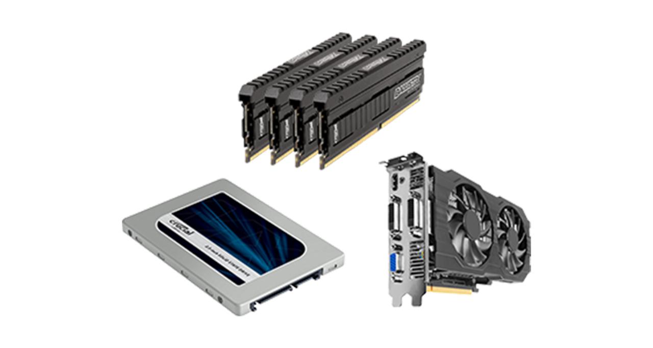 Hardware für Gaming-Computer