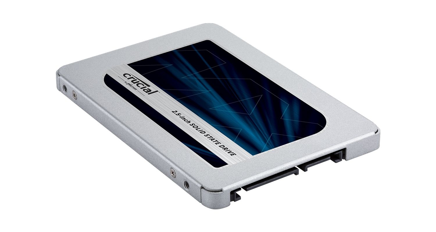 Crucial solid state drive